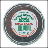 Amish Draw Salve