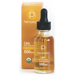 Hemplucid 500mg CBD/MCT Oil