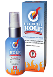 Fire in the Hole! Multi-Itch Relief Spray