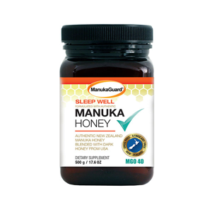 Sleep Well Manuka Honey 8.8oz Jar