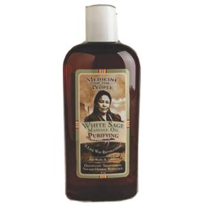 Sacred White Sage Massage Oil