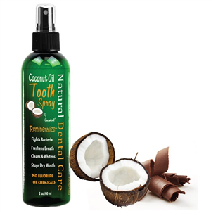 Coconut Oil Tooth Spray 2 oz.