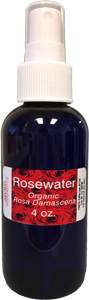 4 oz Rosewater
