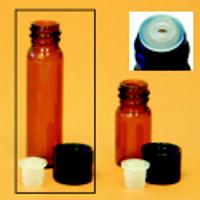 Petite Amber Vial - 1 Dram