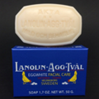 Lanolin Agg-Tval Facial Soap (Egg White)
