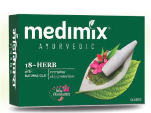 Medimix Ayurvedic Soap (Two 75g bars)